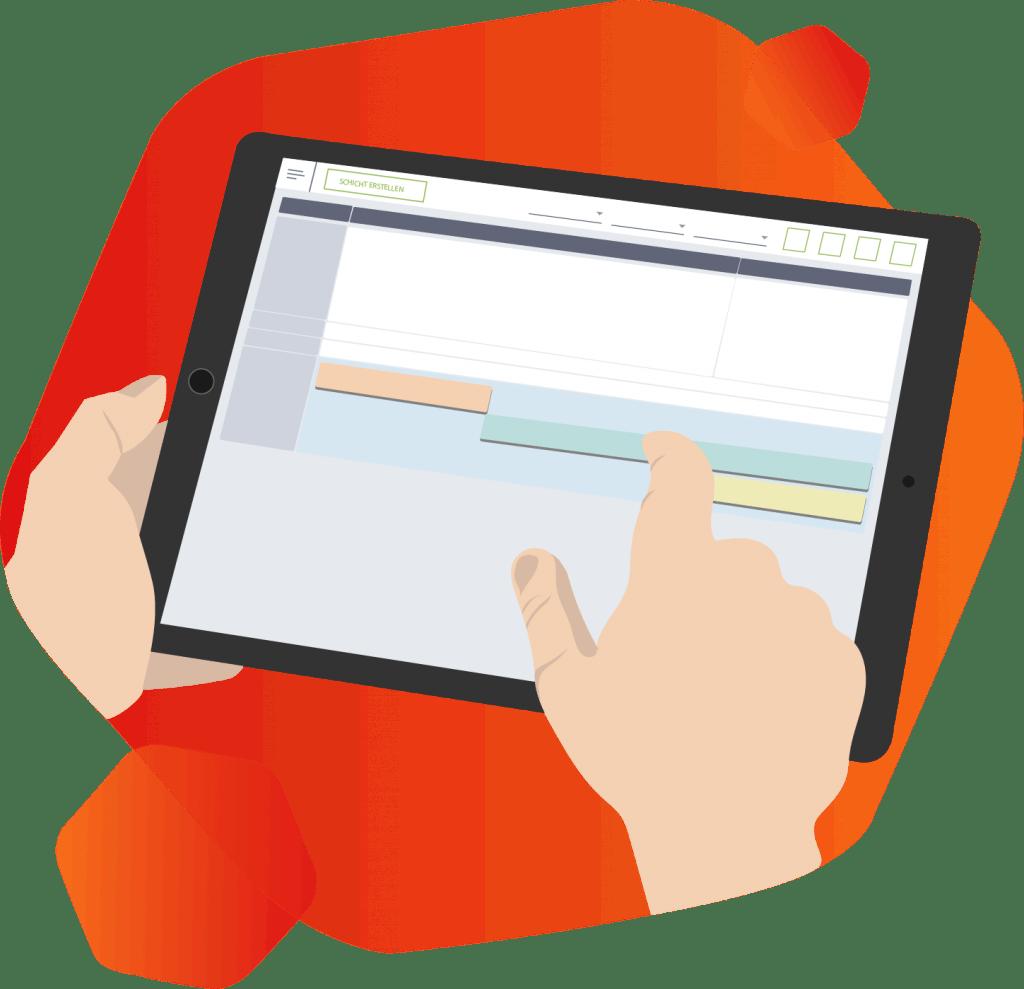 Personalplanung Zeiterfassung Schichtplaner SimplyDelivery