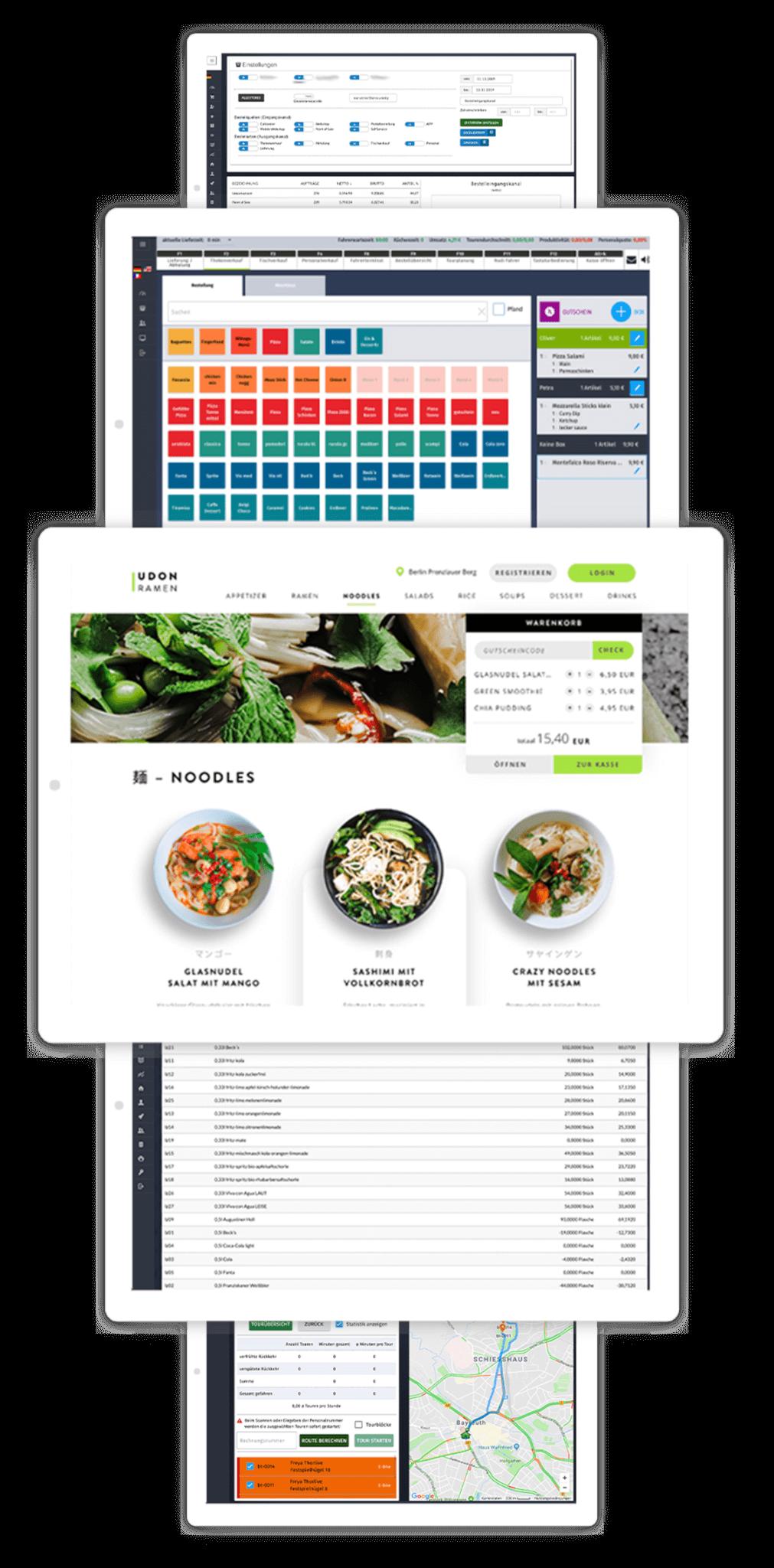 SimplyDelivery Kassensystem & mehr für Lieferdienste, Restaurants und Franchisezentralen