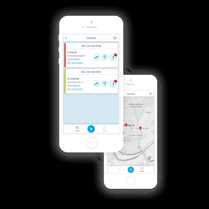 SimplyDelivery Fahrer-App Einsteigerpaket für Restaurants Corona