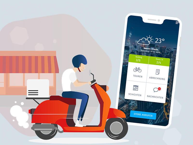 SimplyDelivery Fahrer-App Einfach effizient ausliefern