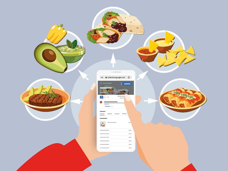 Essen über Google bestellen