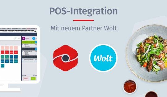 POS-Integration mit neuem Partner Wolt